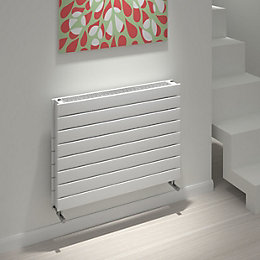 Kudox Tira Horizontal Radiator White, (H)588 mm (W)800