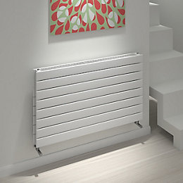Kudox Tira Horizontal Radiator White (H)588 mm (W)1000