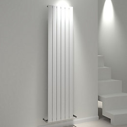 Kudox Tira Vertical Radiator White (H)1800 mm (W)440
