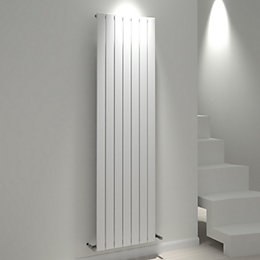 Kudox Tira Vertical Radiator White, (H)1800 mm (W)514
