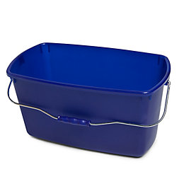 Blue Plastic 15 L Squeegee Bucket