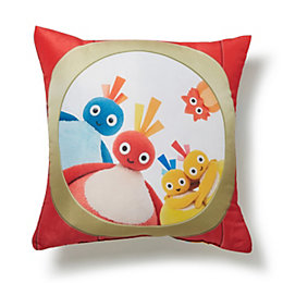 Twirlywoos Reversible Multicolour Cushion