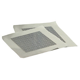 Aluminium Self Adhesive Plasterboard Repair Patches, Pack of
