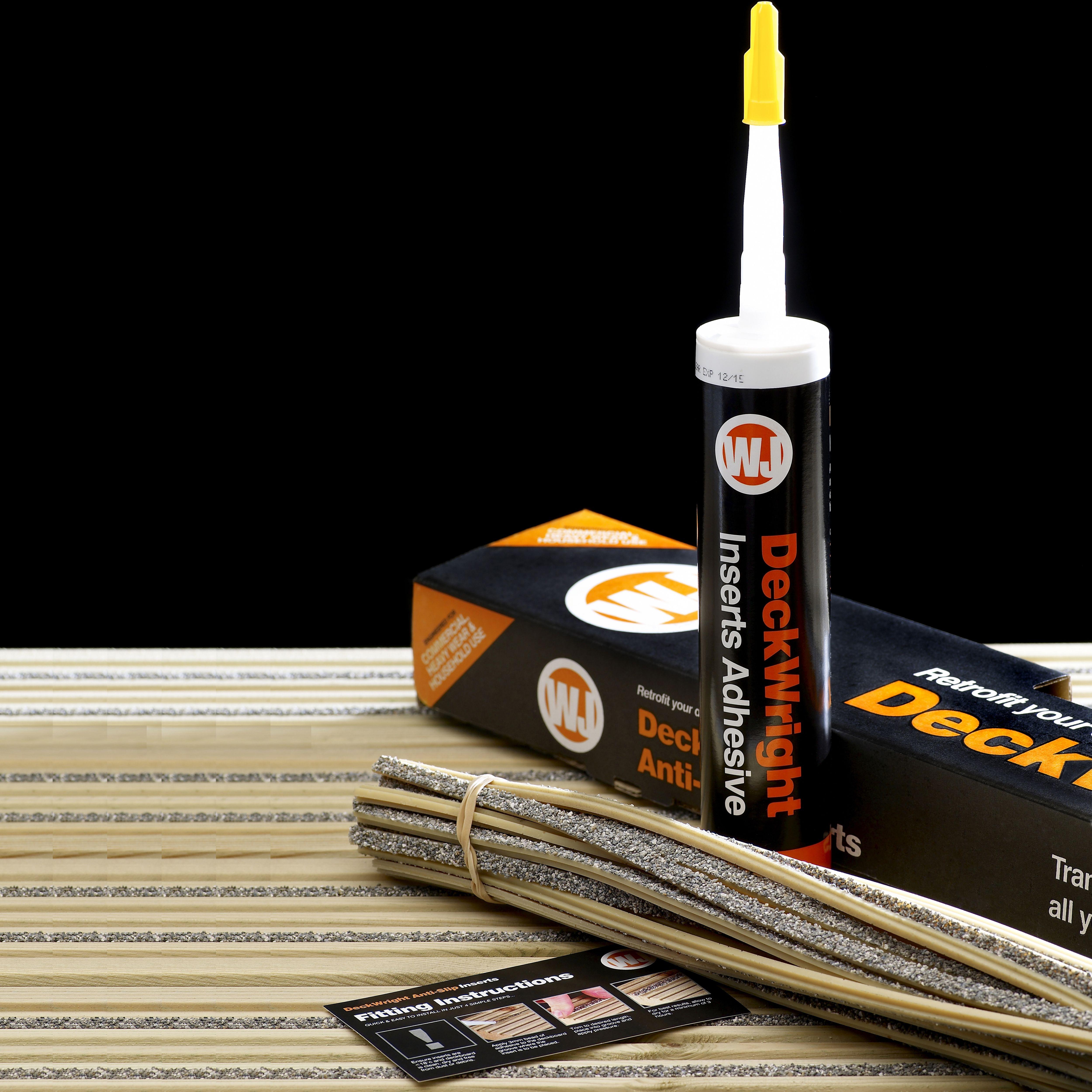 deckwright anti slip decking insert kit departments. Black Bedroom Furniture Sets. Home Design Ideas