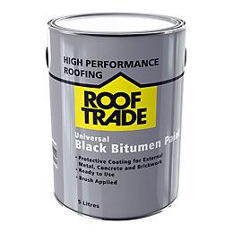 ROOFTRADE Black Universal Bitumen Paint 5L
