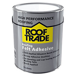 ROOFTRADE Black Roofing Felt Adhesive 5L