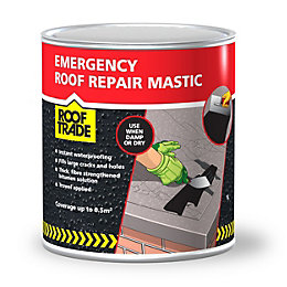 Rooftrade Black Emergency Roof Repair Mastic 1L