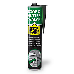 Rooftrade Black Roof & Gutter Sealant 310ml