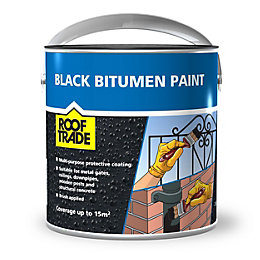 Rooftrade Black Bitumen Paint 2.5L