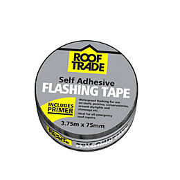 Rooftrade Grey Flashing Tape (L)3.75M (W)75mm