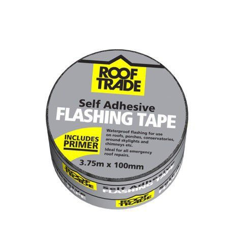 Evo-stik Rooftrade Grey Flashing Tape (l)3.75m (w)100mm