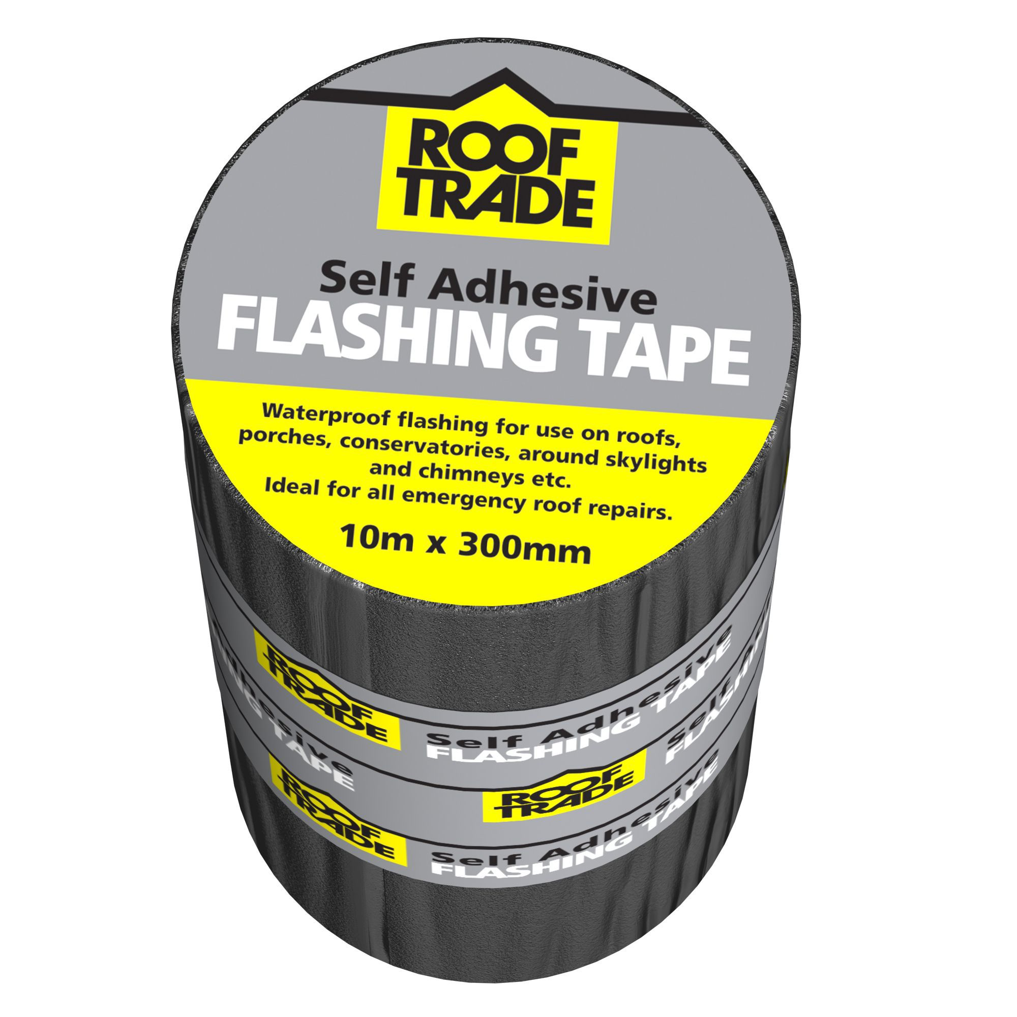 Evo-stik Rooftrade Grey Flashing Tape (l)10m (w)300mm