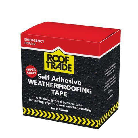 Evo-stik Rooftrade Grey Flashing Tape (l)4m (w)75mm