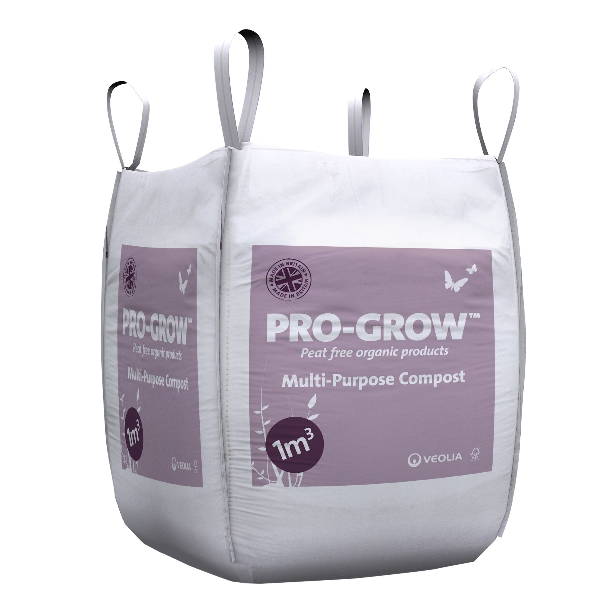 Image for westland multi purpose compost with john innes 50l from - Veolia Pro Grow Multi Purpose Compost 1000l