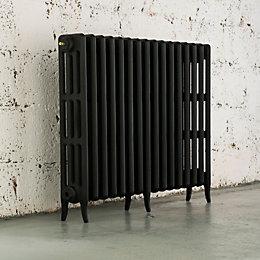Arroll Neo-Classic 4 Column Radiator, Black Primer (W)994mm