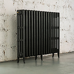 Arroll Neo-Classic 4 Column Radiator, Pewter (W)994mm (H)760mm