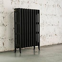 Arroll Neo-Classic 4 Column Radiator, Black Primer (W)634