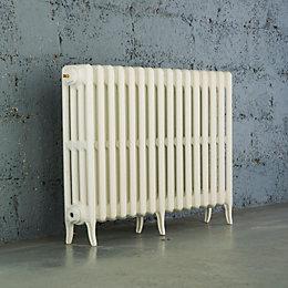 Arroll Neo-Classic 4 Column Radiator, White (W)874mm (H)660mm