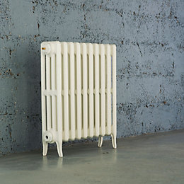 Arroll Neo-Classic 4 Column Radiator, White (W)634mm (H)660mm