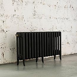 Arroll Neo-Classic 4 Column Radiator, Black Primer (W)874