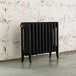 Arroll Neo-Classic 4 Column Radiator, Black Primer (W)754