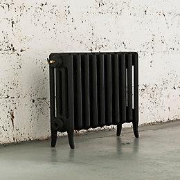 Arroll Neo-Classic 4 Column Radiator, Black Primer (W)634mm