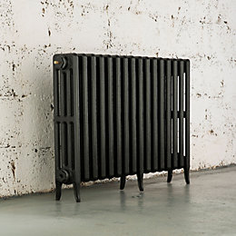 Arroll Neo-Classic 4 Column Radiator, Anthracite (W)994mm