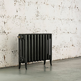 Arroll Neo-Classic 4 Column Radiator, Anthracite (W)634 mm