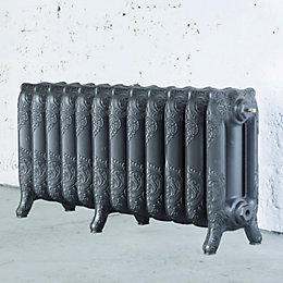 Arroll Montmartre 3 Column Radiator, Cast Grey (W)994