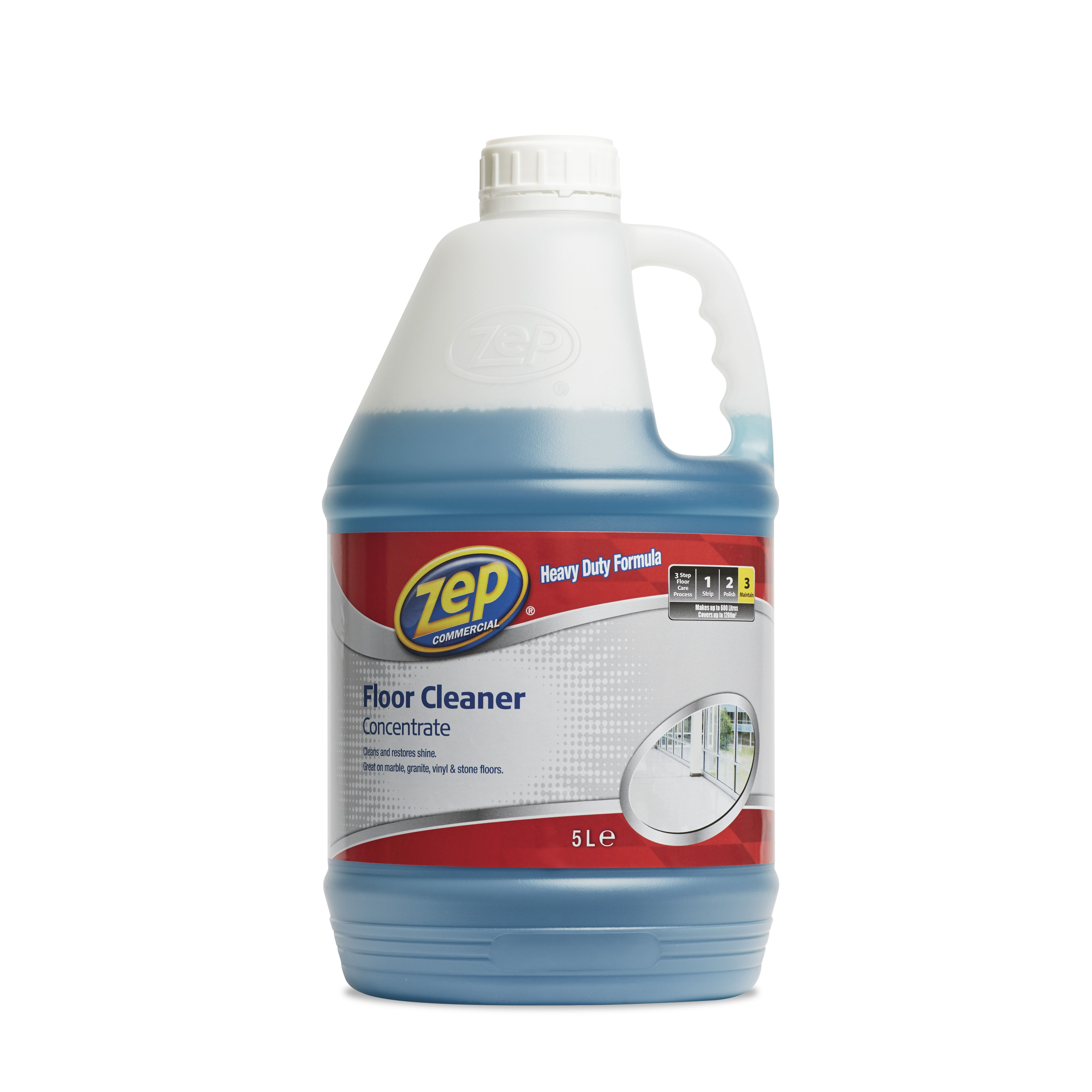 Zep commercial floor cleaner 5000 ml departments diy for Commercial degreaser for concrete