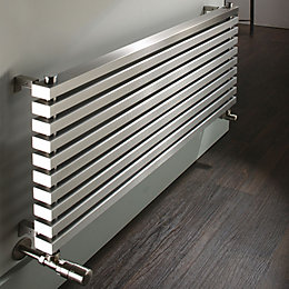 Accuro Korle Cadence Horizontal Radiator Stainless Steel, (H)600