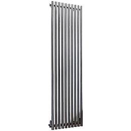 Accuro Korle Impulse Vertical Radiator Stainless Steel, (H)1500