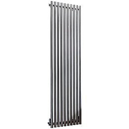 Accuro Korle Impulse Vertical Radiator Stainless Steel (H)2000