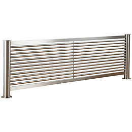 Accuro Korle Mariner Horizontal Radiator Stainless Steel, (H)605