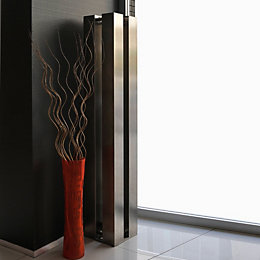 Accuro Korle QUATTRO Vertical Radiator Stainless Steel, (H)1510