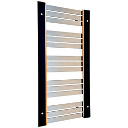 Accuro Korle UMBRA Silver Towel Warmer (H)955mm (W)574mm