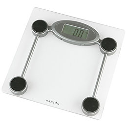 Hanson Silver Bathroom Scale