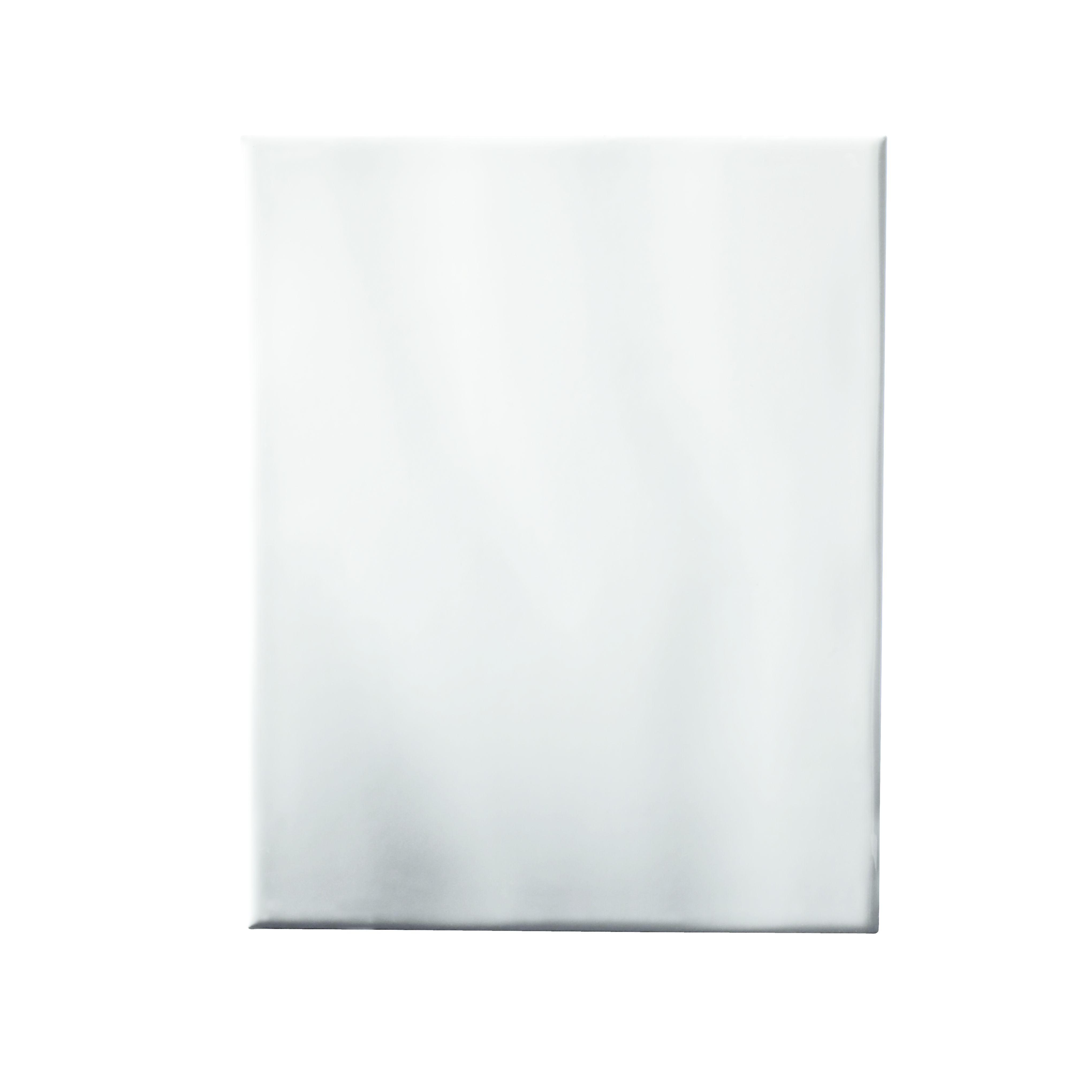 Holborn White Ceramic Wall Tile Pack Of 20 L 250mm W: White Gloss Ripple Ceramic Wall Tile, Pack Of 20, (L)250mm