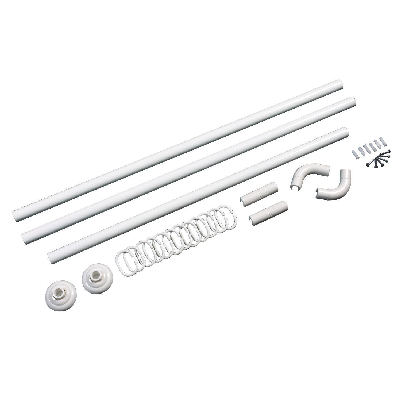 U shaped shower curtain rail b and q - U Shaped Shower Curtain Rail B And Q 22