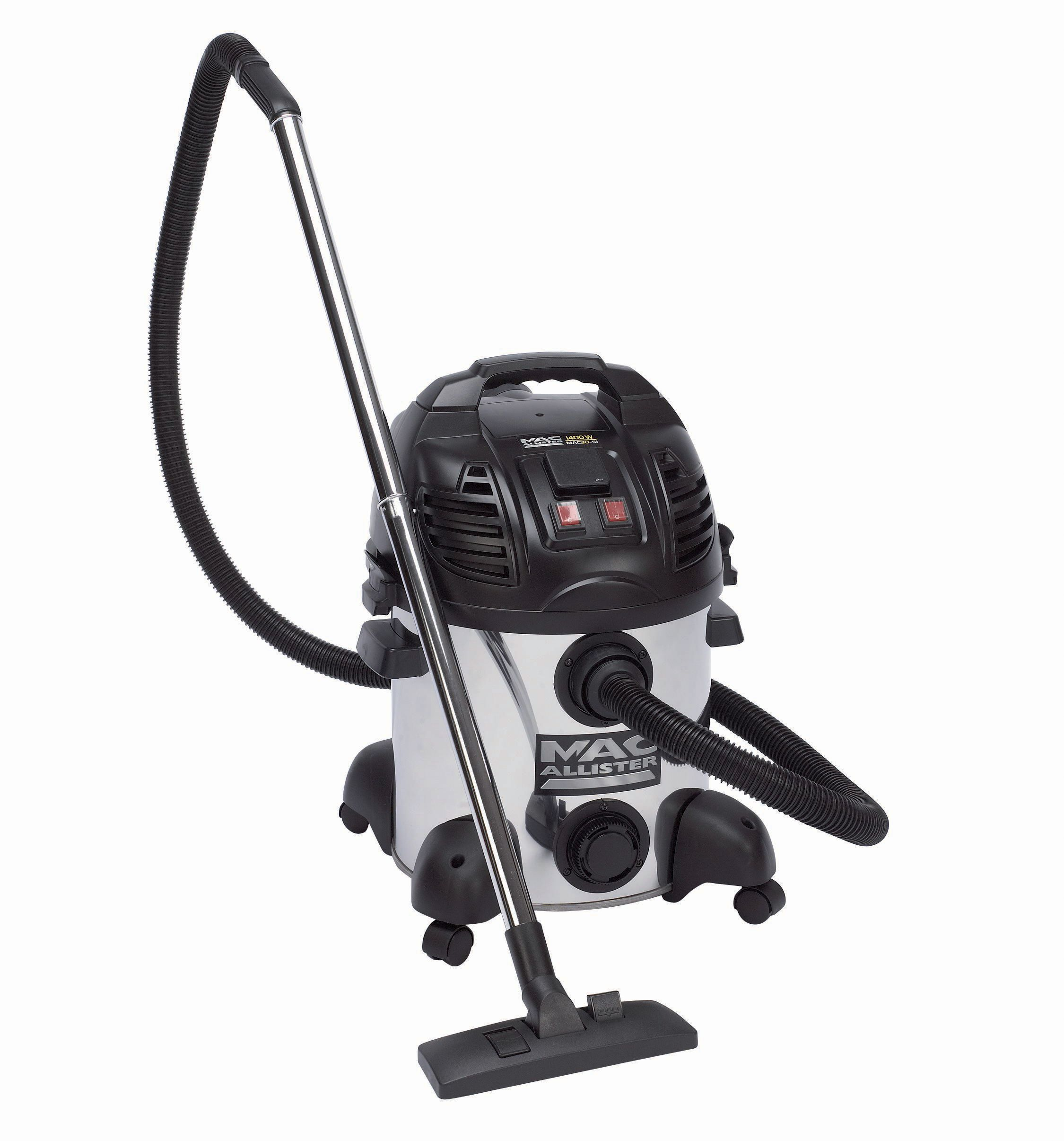 Mac Allister Corded Bagged Wet & Dry Vacuum Cleaner Mac30-sivc