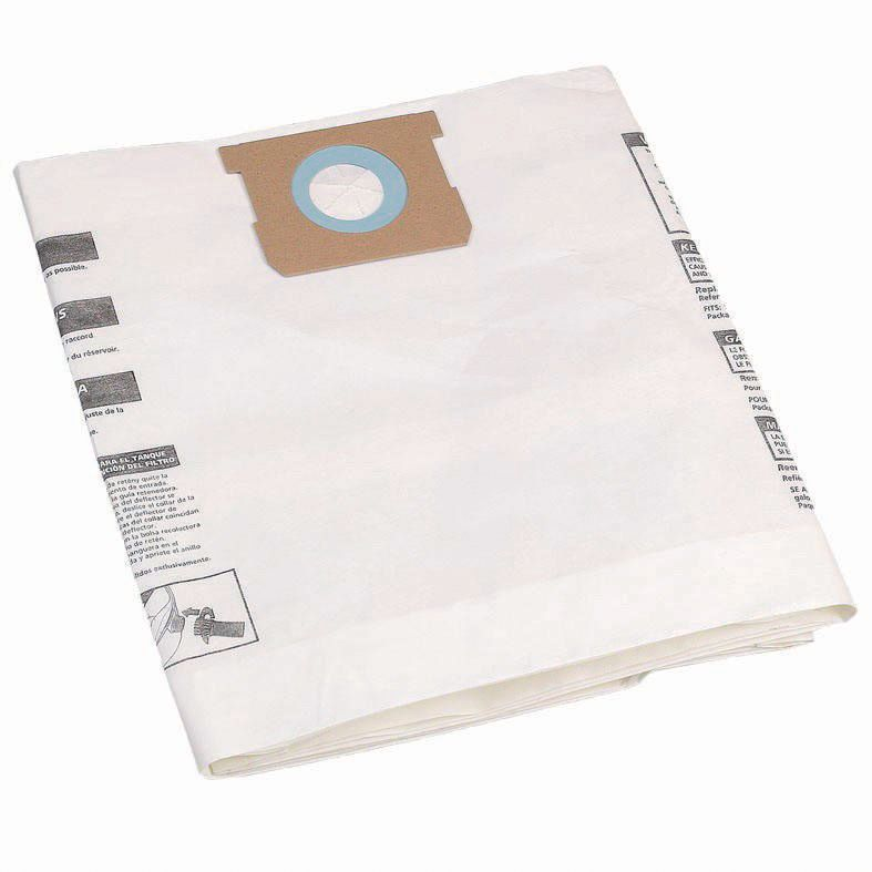Mac Allister White Vacuum Cleaner Bag 50l, Pack Of 5