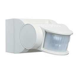 B&Q Eagle Wired PIR Sensor PIR Included