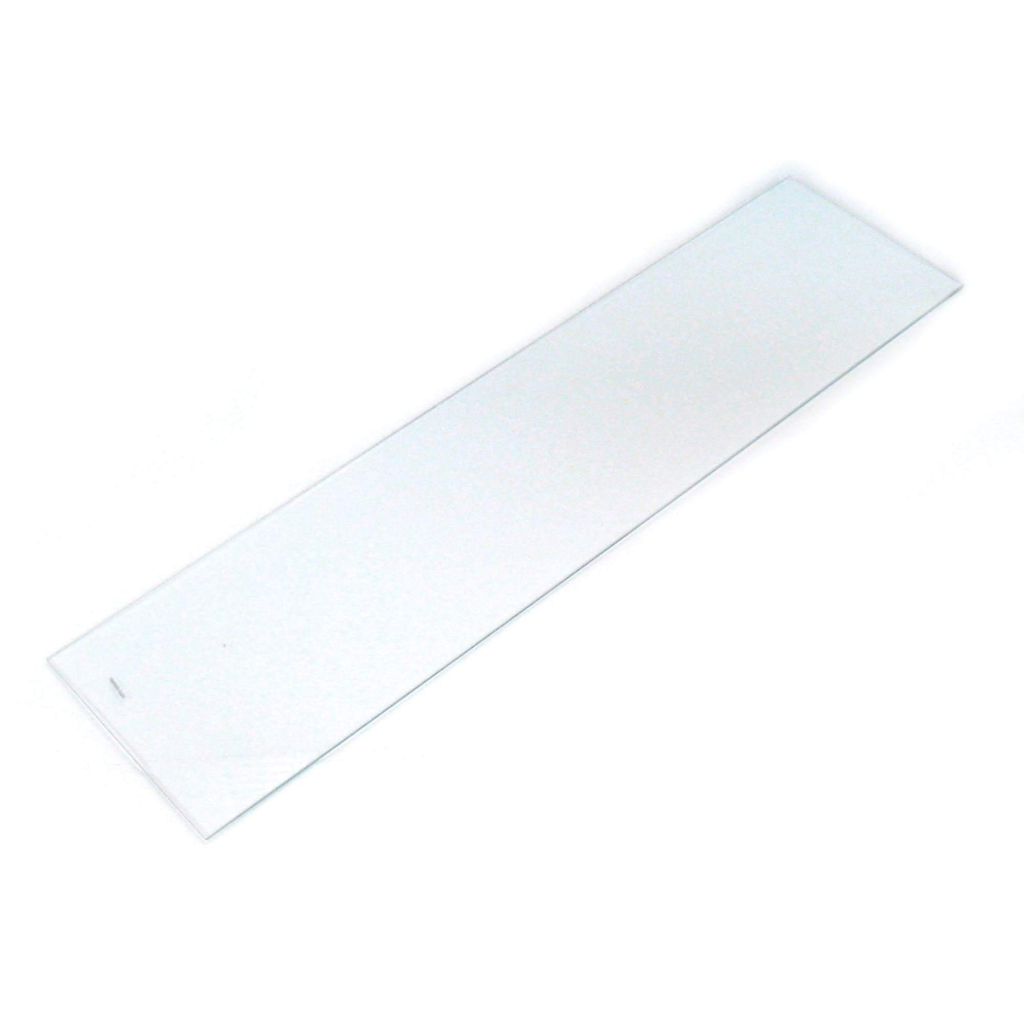 Clear Glass Cupboard Shelf (l)967mm (d)247mm, Pack Of 2