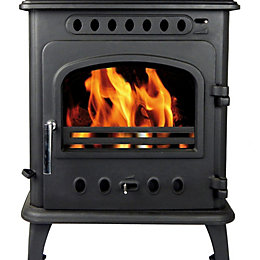 Hothouse Breeze Freestanding Solid Fuel Stove, 4 kW