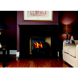 Breeze Freestanding Solid Fuel Solid Fuel Stove, 8