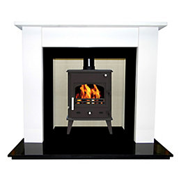 Longford Cream Jura-Stone Fire Surround Set