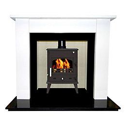 Longford Cream Jura-Stone Fire Surround Set