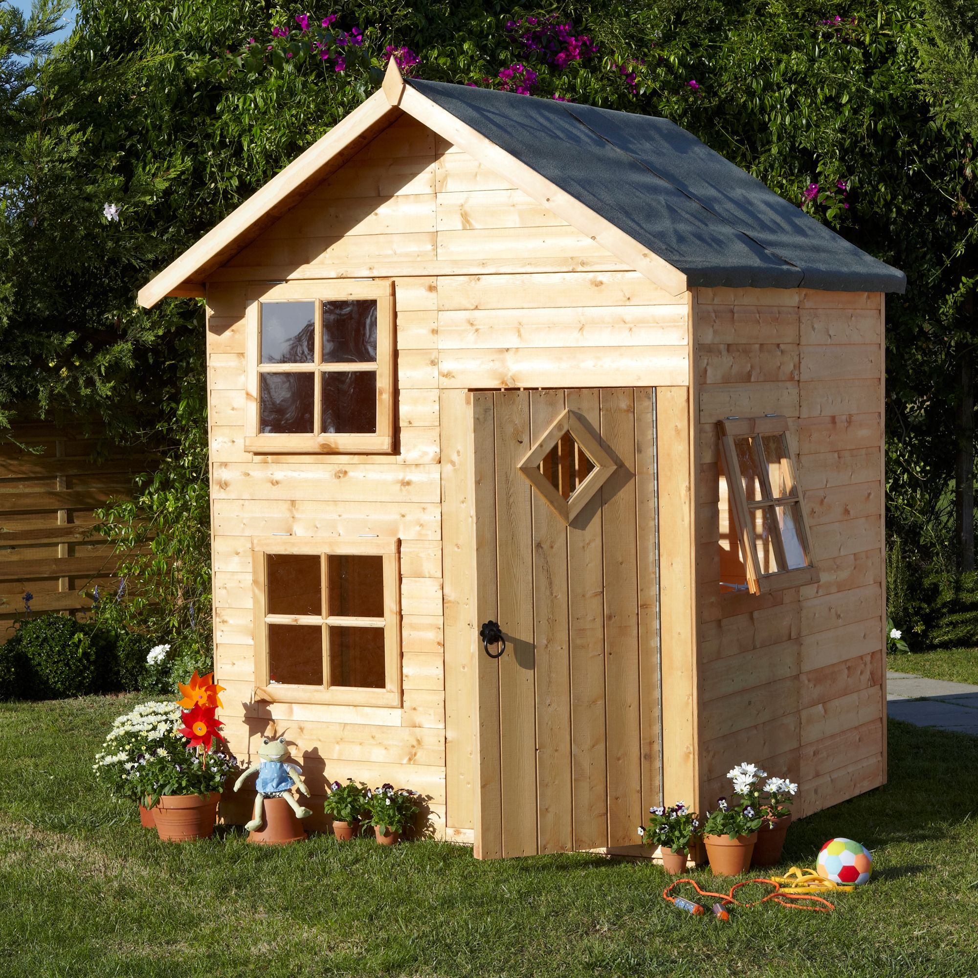 5x5 croft playhouse departments diy at b q for Cost to build a playhouse