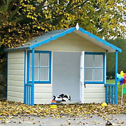 Woodbury 6X4 Playhouse - with Assembly Service