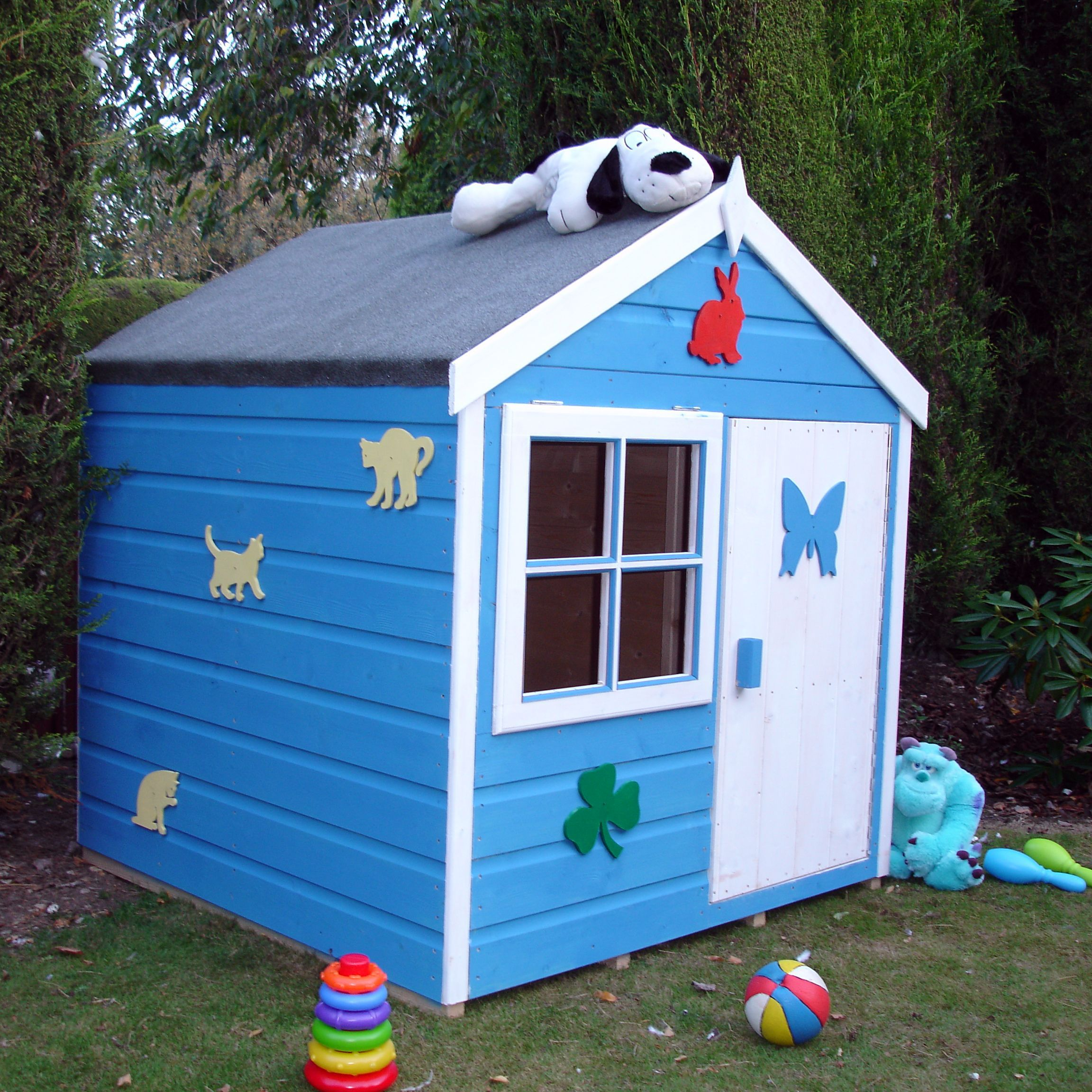 4x4 woodbury playhouse with assembly service departments for Diy kids outdoor playhouse